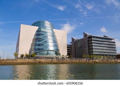 The Convention Centre in Dublin City, Ireland