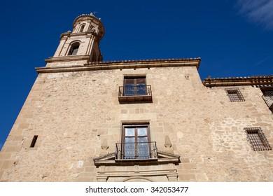 Convento de los Carmelitas Calzados. A convent built in 1676 in Rubielos de Mora , Teruel, Spain