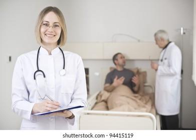 Conversation between doctor and patient