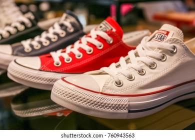 Converse All Star sneakers - Ukraine, Kiev - August 23, 2017
