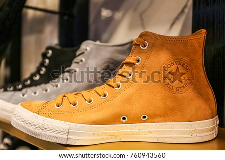 79dab384dfda Converse All Star Sneakers Ukraine Kiev Stock Photo (Edit Now ...
