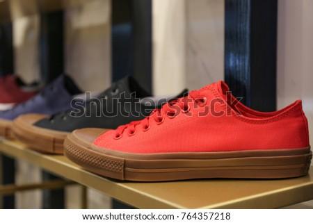 16ea7e6290ba Converse Shoes Store Ukraine Kiev August Stock Photo (Edit Now ...