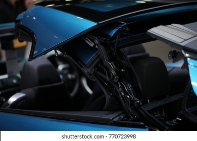 Convertible car's system
