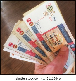 The convertible peso (sometimes given as CUC$ and informally called a cuc or a chavito) is one of two official currencies in Cuba, the other being the Cuban peso.