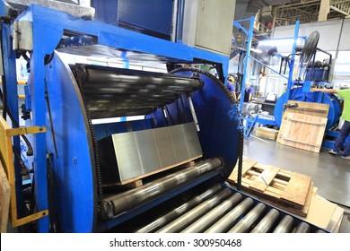 conveyor belt on automated system