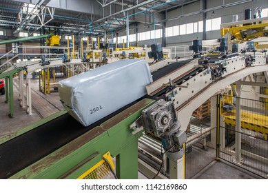 conveyor, peat substrate filling line