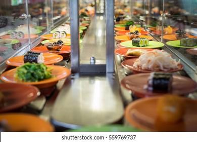 Conveyor sushi belt