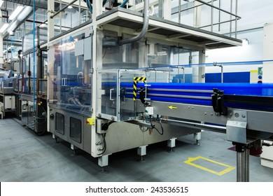 Förderwerk in einer modernen Fabrik