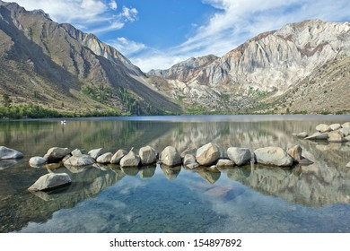 Convict Lake in the Eastern Sierra Nevada mountains, California