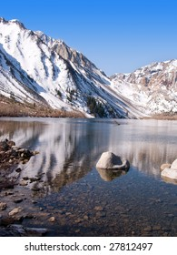 Convict Lake Eastern Sierra Nevada California Portrait