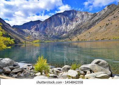 Convict Lake. A small but scenic lake located in Mono County, California.
