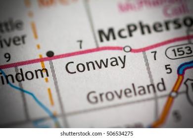 Conway. Kansas. USA.