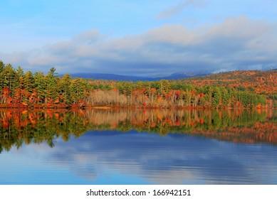 Conway Lake Fall