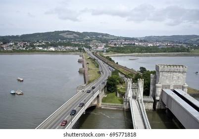 Conwy Castle bridge