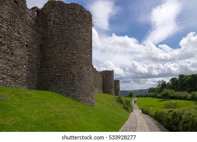Conwy castle and fortifications, Wales, England