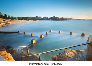Coogee swimming pool at Coogee beach, Sydney NSW, Australia