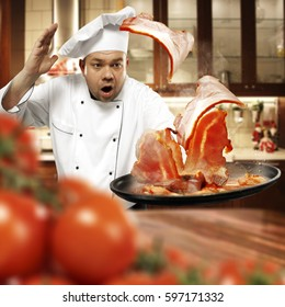 cook chef and food
