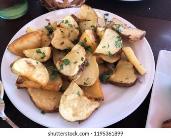 cooked and fried potatoes deluxe