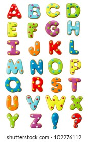 A to Z Alphabets Stock Photos, Images & Photography