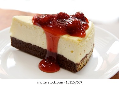 cookie cheese cake strawberry