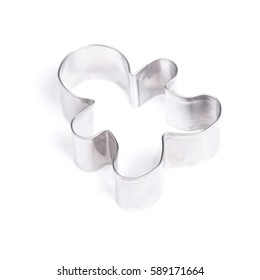 Cookie cutter isolated on white