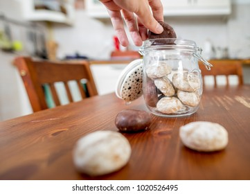 Cookie jar in the kitchen