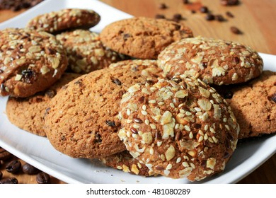 Cookies with cereals