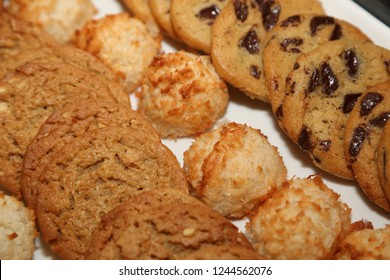 cookies coconut oatmeal and chocolate chip