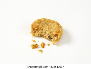 Cookies with crumbs