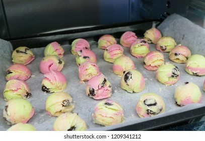 Cookies ice cream Homemade.