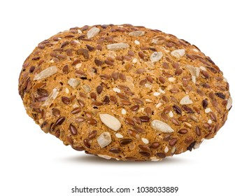 Cookies isolated on white background with clipping path