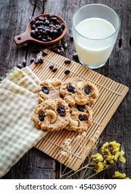 Cookies and milk.