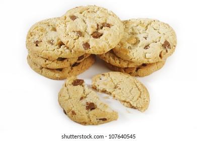 cookies milk chocolate
