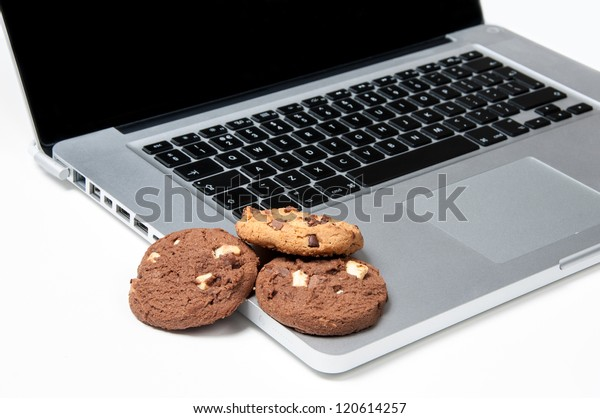Cookies on a Computer, playing on the Browser Cookies