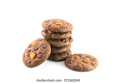 Cookies on isolate background