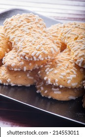 cookies with white sugar