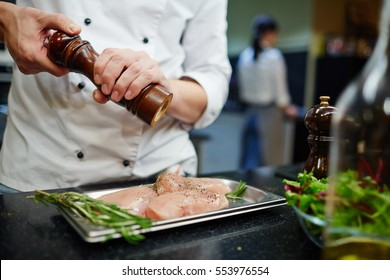 Cooking chiken steaks