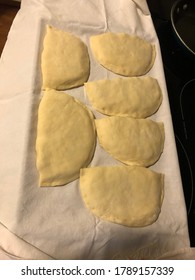 Cooking Fleischkuechle while at home