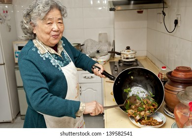 cooking grandmother