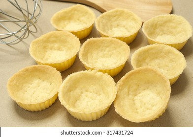 Cooking of  homemade tarts