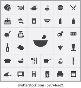 cooking icons universal set