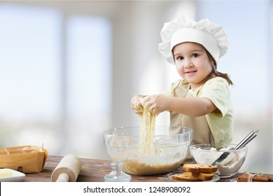 Cooking mother mom kid bake child kitchen