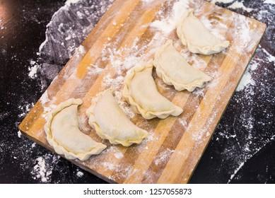 Cooking national Ukrainian dumplings at home