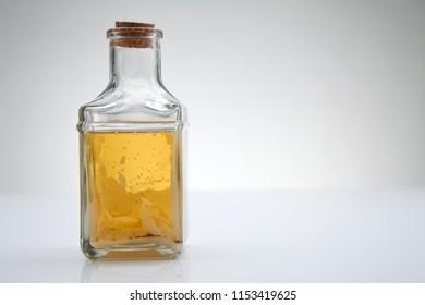 cooking oil crystallised