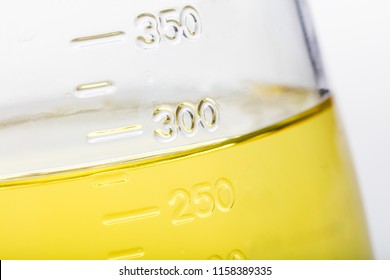 Cooking Oil on measuring cup close up shot