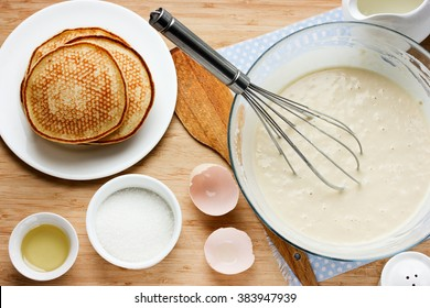 Making Pancakes Images, Stock Photos & Vectors   Shutterstock