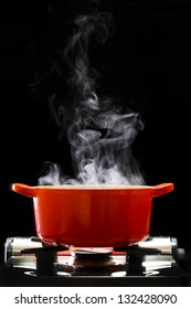 Cooking in the pot