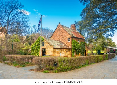 Cook's Cottage in Fitzroy Gardens in Melbourne, Australia is the oldest building in the country built by the parents of the famous explorer James Cook