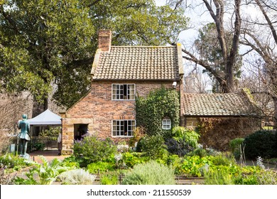 Cook's Cottage in Fitzroy Gardens in Melbourne, Australia is the oldest building in the country built by the parents of the famous explorer James Cook.