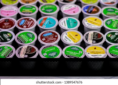 Cookstown, NJ / US 4/4/2019 Variety of K-Cup Coffee